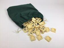 1988 Mattle Scrabble Original Replacement Pieces 100 Tiles