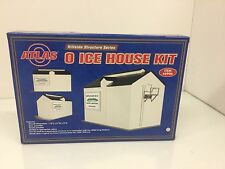 Atlas #6906  Ice House Kit O Scale     New In Unopened Box