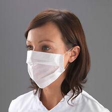 100 X 2 capas de papel mascarillas desechables Profesional oreja lazos médicos polvo de la gripe