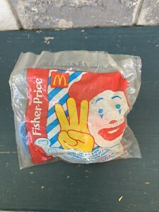 Fisher Price Mcdonald's Happy Meal Toy Three And Under