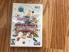 Chuck E. Cheese's Party Games (Nintendo Wii, 2010)