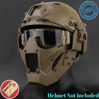Tactical Airsoft Half Face Paintball mask Military Army Metal Steel Mesh Adjusta