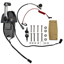 Ignition & Switch Remote Throttle Control Console Kit for Johnson & Evinrude