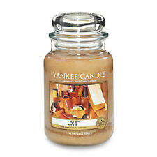 Yankee Candle - 2x4 - 22 oz - Collector's Edition Man Candle! - Rare!