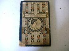 ALMANACH HACHETTE 1915 encyclopédie populaire et vie pratique
