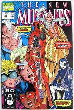 New Mutants #98 1st Deadpool Very KEY ISSUE Movie $ Impact X-Men X-Cellent!
