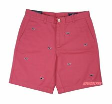 NWT VINEYARD VINES MEN GOLF ALLOVER EMBROIDERED WHALES BREAKER SHORT MSRP $98.50
