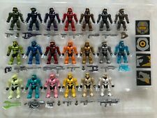 MEGA BLOKS HALO SPARTAN TRIBUTE 20 PACK MINI FIGURES  IN LOOSE