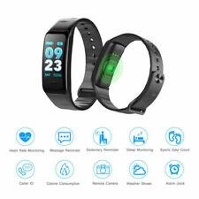 For Blood Pressure Heart Rate Monitor Smart Watch Sport Bracelet Fitness Tracker
