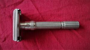 Vintage Gillette L3 Adjustable 1-9 Safety Razor Made in USA