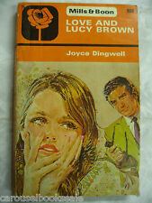 Love and Lucy Brown Joyce Dingwell Mills & Boon Vintage pb A87