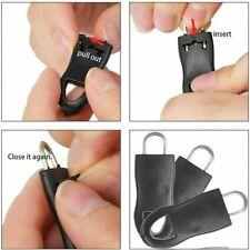 16PCS Universal Detachable Zip Zipper Puller Set Wide Waistbands Elastic Waist