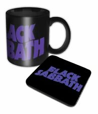 Official Black Sabbath - Wavy Logo - Boxed Ceramic Mug & Coaster Set
