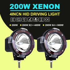 2pcs 4inch Hid Xenon Driving Light Off Road Work Lamp Euro Beam Spotlight 200w