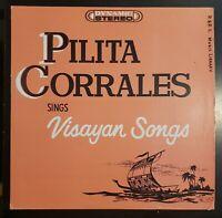 "Pilita Corrales ""sings Visayan Songs"" Vinyl Record LP"