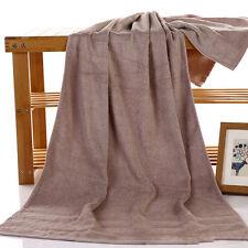 Bamboo Fiber Large Bath Towel Shower Bathroom Home Hotel Travel Towel 4 Styles