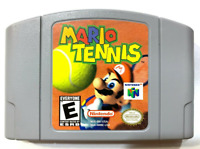 Mario Tennis - Nintendo 64 N64 Game Tested - Working - Authentic! Good!