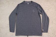 Billabong Shirt Mens Large Blue Polyester UPF 50 Long Sleeve Loose Fit