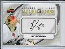 11-12 Between The Pipes Leland Irving Future Stars Auto