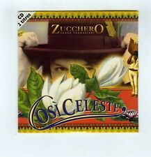 CD SINGLE (NEW) ZUCCHERO COSI CELESTE