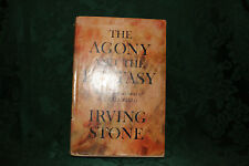 1961 Classic First Edition w/BJ The Agony and the Ecstasy by Irving Stone