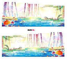 Nail Art Sticker Water Decals Transfer Decorative Art Scenic Water (DC236)