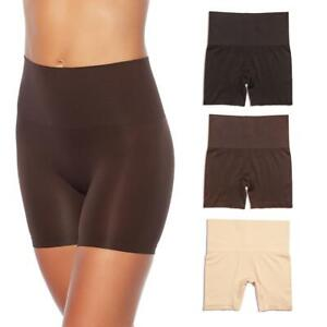 Yummie Seamless Shaping Shortie 3-pack Almond/Coffee/Black Size M/L #607-703