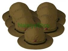 Russian Military Panama Afghanka Soviet Red Army USSR Soldier Hat Uniform Cap