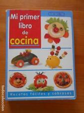 MI PRIMER LIBRO DE COCINA - RECETAS FACILES Y SABROSAS - RECETAS PARA NIÑOS (W1)