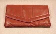 Clutch Purse Brown Leather Uruguay