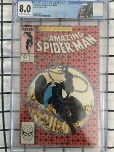 spiderman 300 cgc 8.0