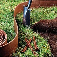 Landscape Lawn Edging Stakes 5 In. X 40 Ft Edge Terrace Board Garden Decor Plant