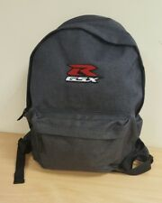 embroidered GSXR logo 2 tone backpack with FREE KEYRING