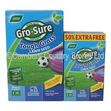 Westland Gro-Sure Tough Grass Lawn Seed For New & Existing Hard Wearing Lawns