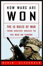 How Wars Are Won: The 13 Rules of War - from Ancient Greece to the War-ExLibrary