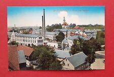 AK GROßRÖHRSDORF um 1910 Ortsansicht mit Fabrik Gelände    ( 37595