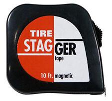 Race Car 10' Tire Stagger Tape Measure  #1165