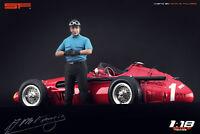 1:18 Juan Manuel Fangio figurine VERY RARE !!! NO CARS !! for diecast collectors