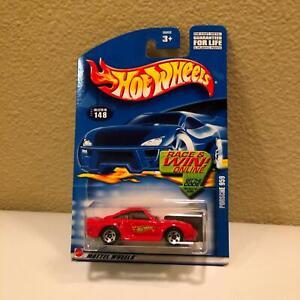 Hot Wheels Mattel 2002 Porsche 959 Collector #148 Red O8