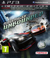 Ridge Racer Unbounded Limited Edition PS3 PLAYSTATION 3 Namco