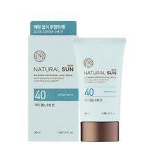 THE FACE SHOP Natural Sun Eco No Shine Hydrating Sun Cream (50ml) SPF50+/PA+++