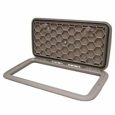JIM BLACK 581-1324-07 13 X 24 IN TAUPE BOAT DECK HATCH