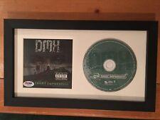 DMX Signed FRAMED Great Depression  BOOKLET AUTOGRAPH CD RAPPER RARE PSA COA