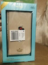 Kate spade New York Apple iphone Saffiano Leather Minnie Mouse XR Folio Case NWT