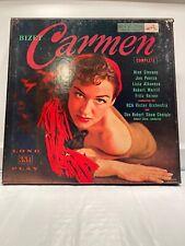 Georges Bizet - Carmen Complete - 3LP Box Set Includes Book RCA LM-6102 Mono bx1
