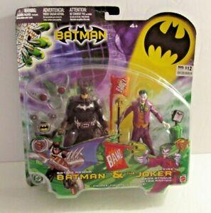Mattel DC Battle Armor BATMAN & Quick Fire THE JOKER Figures  2007 MISP READ