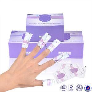 CANNI UV Gel Nail Polish Remover Foil Pouches / Wraps Acetone Soak Off Pads