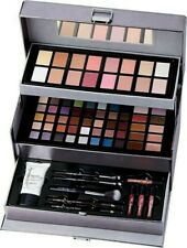 NEW Ulta FLIRTY & FLAWLESS 76pc Collection Eye/Lip Make-Up Kit w/ Charcoal Case