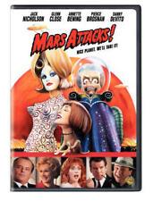 New Mars Attacks Dvd Marsattacts Jack Nicholson Glenn ClosE Annette Bening Movie
