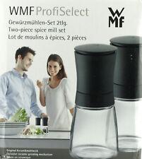 WMF Profi Select Gewürzmühlen-Set 2 Gewürzmühlen Ceramillmahlwerk m. Aromadeckel